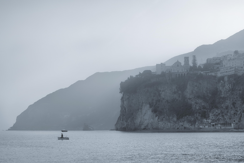 La cattedrale dell'Annunziata vista da mare
